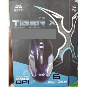Mouse Óptico Gamer Usb 2400 Dpi 6 Botões Led Rgb