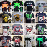 4 Camiseta Ufc Mma Jiu Jitsu Venum Muay Thai Tapout Black