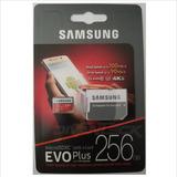 Samsung Evo Plus 256gb 100mb Micro Sdxc Go Pro Dron Original
