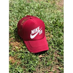 2031801439910 Gorras Viseras Nike Correr - Gorros con Visera Bordó en Mercado ...