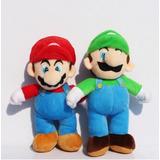 Mario Bros 25 Cm Pack 2 Peluches