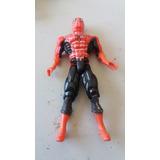 Boneco Homem Aranha 13cm C/articulações E Luz