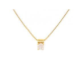 9bd9b7e849655 Pingente Ponto De Luz Em Ouro 18k 750 Com Diamante 20 Pontos - Joias ...