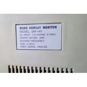Monitor Monocromatico (blanco Negro)