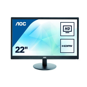 Monitor 21,5 Full Hd Aoc E2270swhn