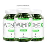 Womax 3 Frascos 60 Caps Cada Suplemento Emagrecedor