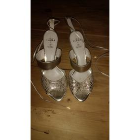 1d51b52f70 Sandalia Ouro Velho Arezzo E Feminino - Sapatos no Mercado Livre Brasil