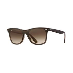 63758bfebe285 Ray Ban 2140 Wayfarer Marrom Fosco - Óculos no Mercado Livre Brasil