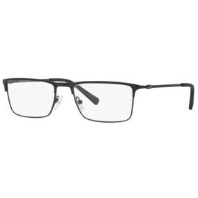 a27b643fe3272 Armação Oculos Grau Armani Exchange Ax1035 6063 54 Preto Fos