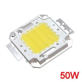 Kit 10 Chip Led Branco Frio 6000k P/ Refletor 50w 100w 150w