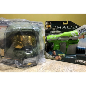 Casco Halo Master Chief + Pistola Halo M6