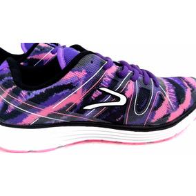 promo code 07c9f 618fa Zapatillas Dunlop Oferta Stick Purpura Mujer Original Nuevo