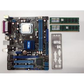 Asus P5g41t-m Lx2/br + Processador 775 Core2 Quad + 4gb Ddr3
