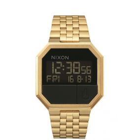 Reloj Re Run Dorado Nixon