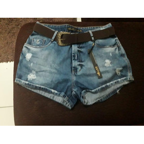 536e37243 Short Muller Jeans - Shorts Jeans para Feminino no Mercado Livre Brasil