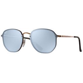 3fe860666ad10 Oculos De Sol Ray Ban Hexagonal Blaze Rb3579 Masculino Femin