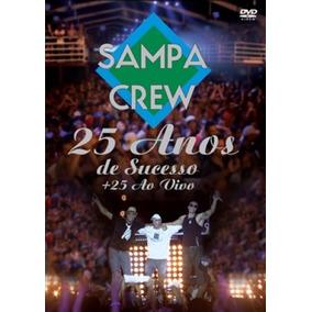 cd sampa crew 25 anos ao vivo