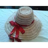 Capelina Artesanal Tejida Al Crochet 56 Cm Circunf Cabeza