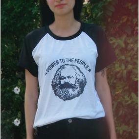 Remera Mujer Karl Marx Filosofía
