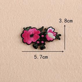 Parche Para Ropa Flor Rosa Mini