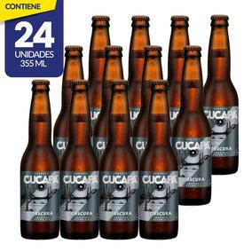Cerveza Artesanal Cucapá Honey, 24 Botellas 355ml C/u