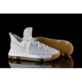 buy popular 818e0 397b2 Nike Zoom Kd 9 Gs Tenis Baloncesto Blancos No. 855908