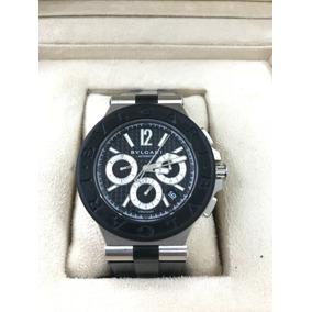 8de169b39a1 Relogio Bvlgari Diagono Dg 48 Bv Ch 03022 - Relógios no Mercado ...