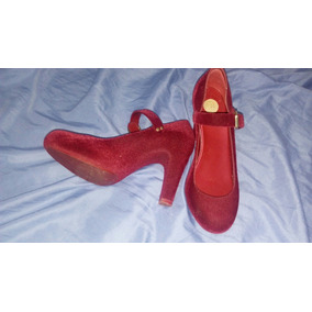 Sandália Melissa Vermelha Camurça