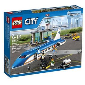 Lego City Terminal De Pasajeros Del Aeropuerto 60104 El Jueg