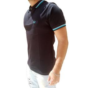 Camisa Polo Meia Malha Algodão Masculino Top Promoção