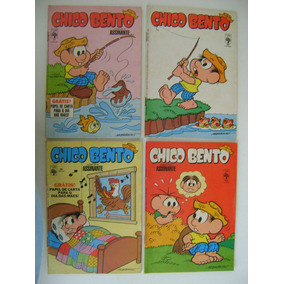 3 Gibis Chico Bento Nº 17 Ao 113 Ed. Abril