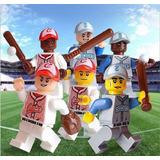 Major League Baseball - Bonecos Beisebol Minifiguras 2e7c6f7884a