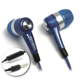 Kit 10 Earphone To-go C/ Microfone Azul Leadership 9361