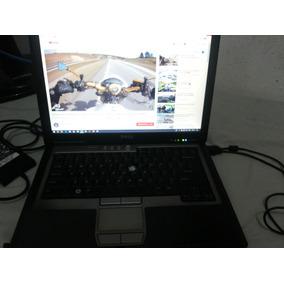 Notebook Dell D620 Funcionando Detalhe Teclado