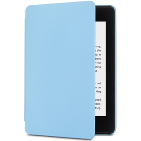 Capa Amazon Nupro Para Kindle Novo Paperwhite Azul Claro