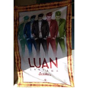 Poster Luan Santana Acústico 2015 - Pano.