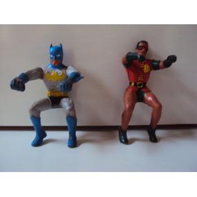 Heróis Gulliver Anos 70 Batman E Robin.
