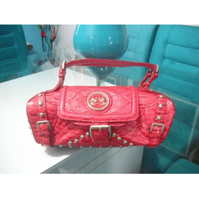 c62022567d Bolsa Carmim De Couro - Bolsas Vermelho no Mercado Livre Brasil
