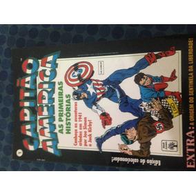 Capitão América - 6 Revistas, Série Completa, Hqs Gibi Raros