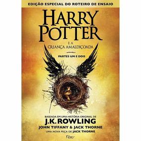 Livro - Harry Potter E A Criança Amaldiçoada - Capa Dura #