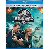 Jurassic World: Reino Ameaçado - Blu-ray 3d -digital Remux