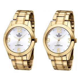 9d244f16f7f Relogio Feminino Dourado - Relógio Feminino em Marapoama no Mercado ...