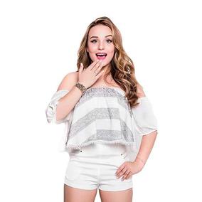 Blusas Da Larissa Manoela - Calçados, Roupas e Bolsas no Mercado ... ef21359c47