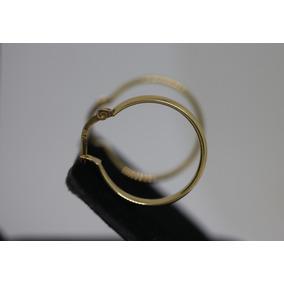 44cdfb0381f95 Brinco Argola Ouro Fecho Encaixe - Joias e Relógios no Mercado Livre ...