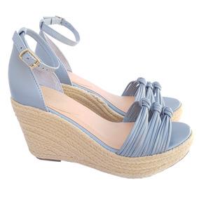 c54ba9b74 Sapato Plataforma Azul Bebe 3435 Schutz - Sapatos no Mercado Livre ...