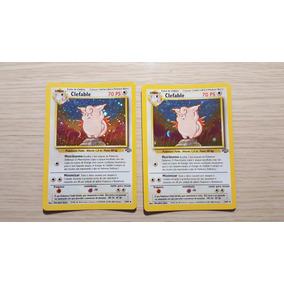Card Clefable Tcg 1/64 Set Jungle