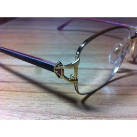 Armação De Oculos Luxottica - Óculos Preto no Mercado Livre Brasil a71b711622