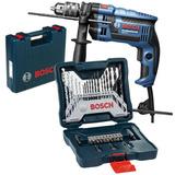 Furadeira Industrial 1/2 Gsb 16re 750w + Kit 30 Pcs Bosch