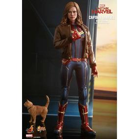 Hot Toys Capitain Marvel Unico No Mercado Livre Envio Rapido