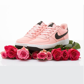 Tenis Nike Air Force 1 Vday (gs) Coral Talla #24 Mujer Psd